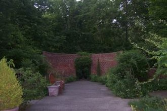 Wildwood Preserve Metropark - Gardens located to the east of the Stranahan Mansion