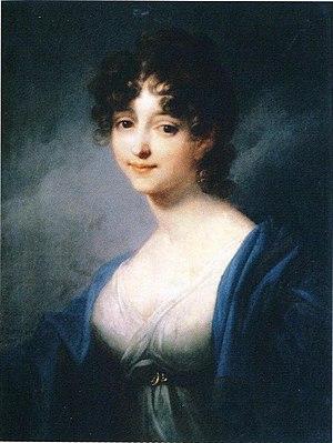 Princess Wilhelmine, Duchess of Sagan - Wilhelmine von Sagan, by Joseph Maria Grassi, 1799