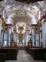 Wilhering Stift Stiftskirche innen