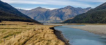 Wilkin River close to its confluence with Makarora River, Otago, New Zealand.jpg