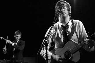 Okkervil River - Will Sheff, lead singer and song-writer (2008)