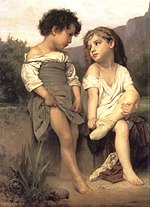 William-Adolphe Bouguereau (1825-1905) - At the Edge of the Brook (1879).jpg