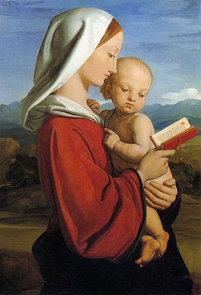 File:William Dyce - The Virgin and Child - WGA07374.jpg