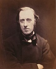 William Edward Hartpole Lecky, Photography 1868 by Julia Margaret Cameron, National Portrait Gallery London