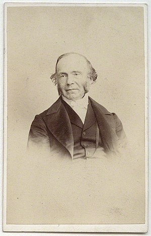 William Hanna (minister) - William Hanna, 1860s photo