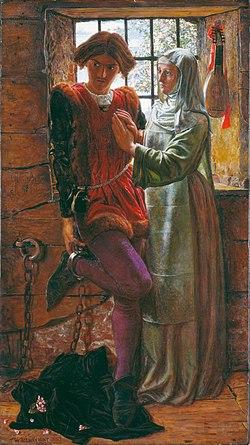 William Holman Hunt - Claudio and Isabella - Google Art Project.jpg