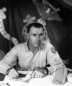 William J. Whaling - Whaling while served with 6th Marine Division