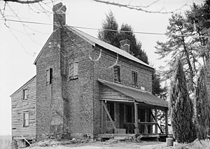 Oconee Station State Historic Site - William Richards house at Oconee Station