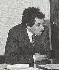 William Waldegrave visiting University of Salford 1981 cropped.jpg