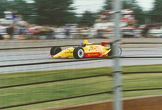 1991 Indianapolis 500 - Willy T. Ribbs at the 1991 Indianapolis 500