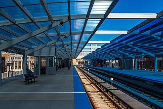 Wilson station (CTA) - Image: Wilson Station