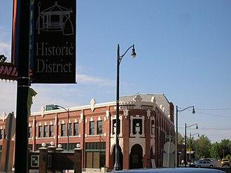 Rupert, Idaho - Wilson Theatre in downtown Rupert in 2006