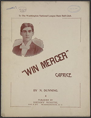Win Mercer - Win Mercer Sheet Music