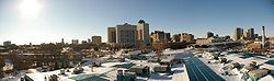 Skyline of City of Winnipeg
