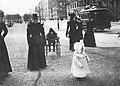 Women and children on Strandvägen, Stockholm c. 1890.jpg