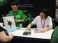 WonderCon 2011 - Frank Quitely signing at the DC booth (5580818109).jpg