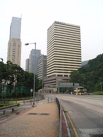Wong Chuk Hang - Eastern part of the Wong Chuk Hang's industrial zone