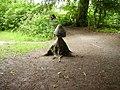Wooden mushroom - geograph.org.uk - 495956.jpg