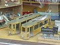 Wooden toy trams at Sporvejsmuseet 09.jpg