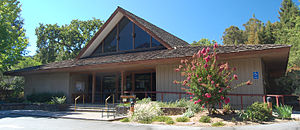 Woodside, California - Image: Woodside Library