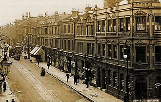 The Woolwich - Image: Woolwich, Powis Street, ca 1905