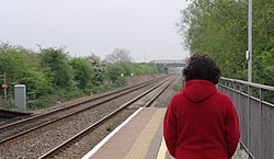 Worle railway station MMB 13.jpg