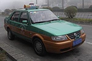 Volkswagen Jetta King - Facelift Jetta taxi in Guangzhou