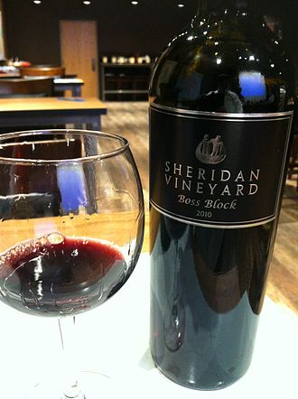 Yakima Valley AVA - Cabernet Franc from Sheridan Vineyards in the Yakima Valley