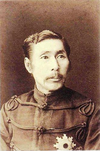 Yamagata Aritomo - Yamagata in his early years.