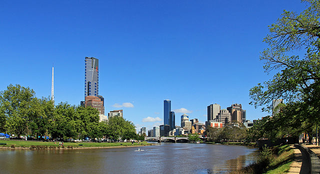 Yarra River & City Skyline