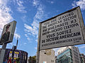 You are leaving the American sector - Checkpoint Charlie, Berlin (23443784732).jpg