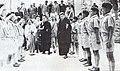 Young Tibetans saluting Tenzin Gyatso, the 14th Dalai Lama of Tibet and Samdhong Rinpoche Scan0004 (cropped).jpg