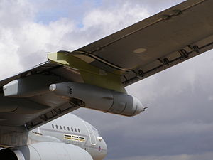 Airbus A330 MRTT - Starboard refuelling pod on a Royal Air Force Voyager