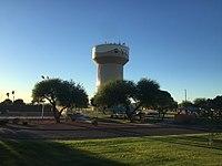 Yuma Water Tower, Yuma, AZ, USA 10-31-15.jpg