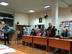 Yuras' Balanchuk and Andriy Shadiuk Literary Event 05.jpg