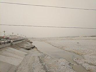 White Jade River - Image: Yurungkash River near Hotan