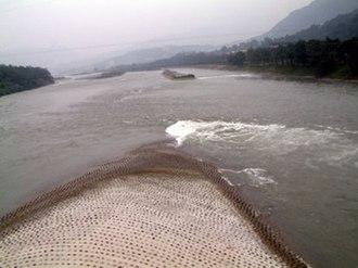 Dujiangyan - Fish Mouth Levee