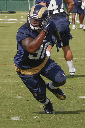 Zac Stacy - Stacy with the St. Louis Rams