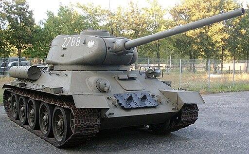 Zagan czolg T34 85