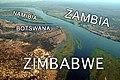 Zambezi River at junction of Namibia, Zambia, Zimbabwe & Botswana - with labels.jpg
