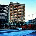 Zamboni at Olympic Plaza this morning. -iphone -yyc (8264489281).jpg