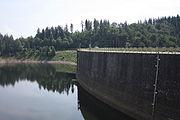 Zapora wodna koło Pilchowic.JPG