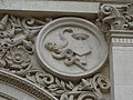 Zaragoza - Antigua Facultad de Medicina - Medallón - Medicina.jpg