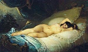 Firs Sergeyevich Zhuravlev (1836-1901) Naked woman