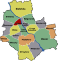 Zoliborz Warsaw District Map.png