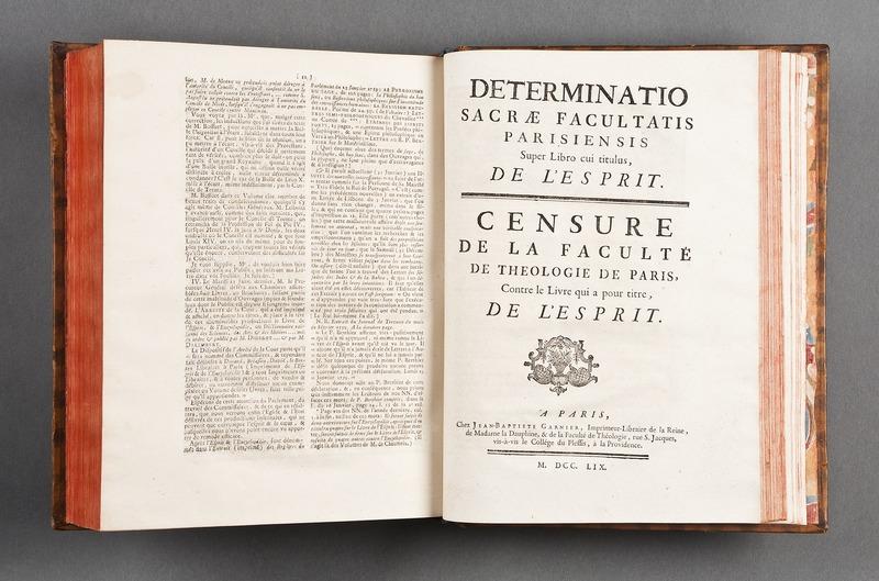 """File:""""Determinatio sacræ facultatis Parisiensis super libro cui titulus, de l'esprit - Skoklosters slott - 86179.tif"""