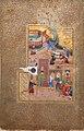 """Funeral Procession"", Folio 35r from a Mantiq al-tair (Language of the Birds) MET sf63-210-35r.jpg"