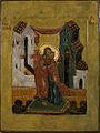 """St.Jiokim and St.Anna"" egg tempera, gold leaf on wood, sm 32x24.jpg"