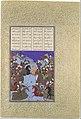 """The Night Battle of Kai Khusrau and Afrasiyab"", Folio367v from the Shahnama (Book of Kings) of Shah Tahmasp MET DP107163.jpg"