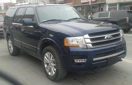 Facelifted  Ford Expedition